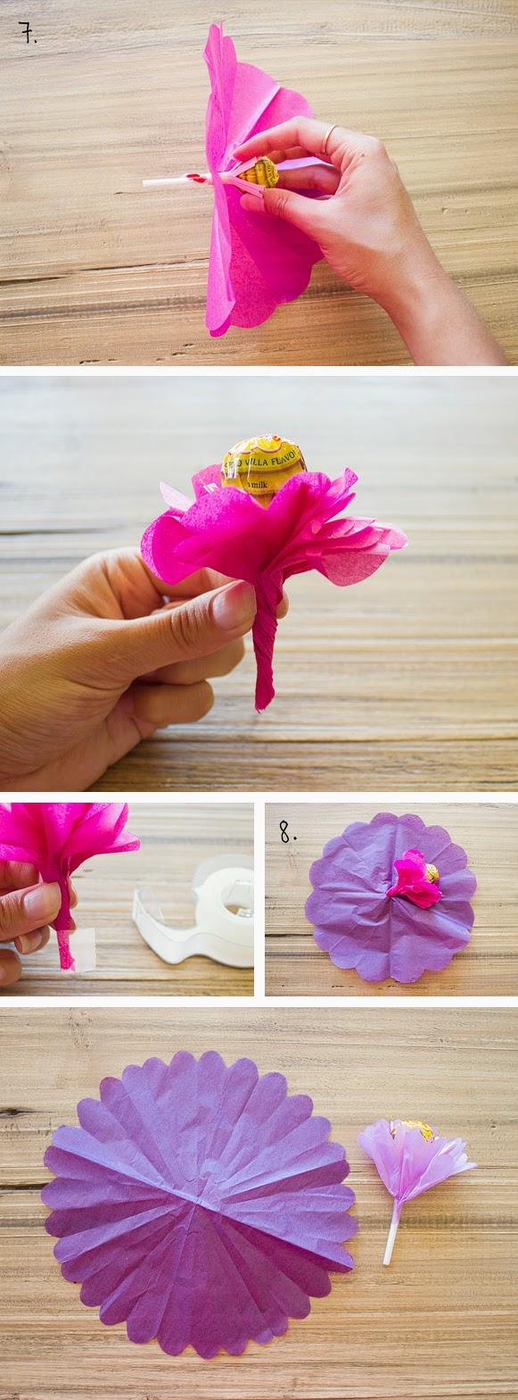 Как сделать букет из бумаги и как быстро и легко