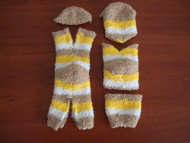 Котята из носков своими руками
