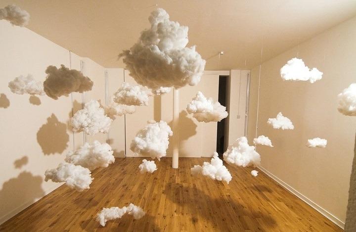 Как сделать облака из ваты на бумаге своими руками 18