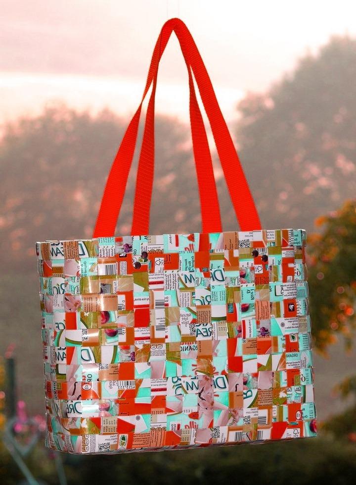 Оригинальная пляжная сумка своими руками 59