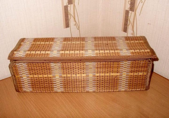 Поделки своими руками из бамбуковой салфетки 37