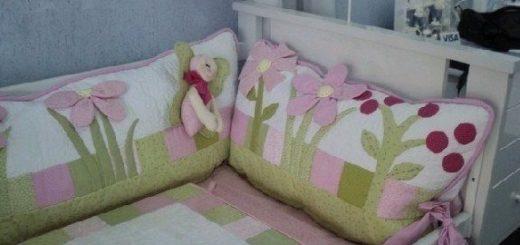 бортик для кроватки