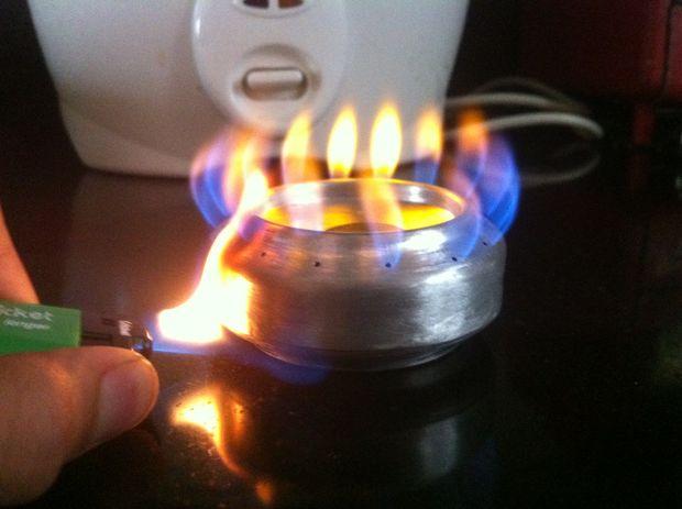 спиртовая горелка
