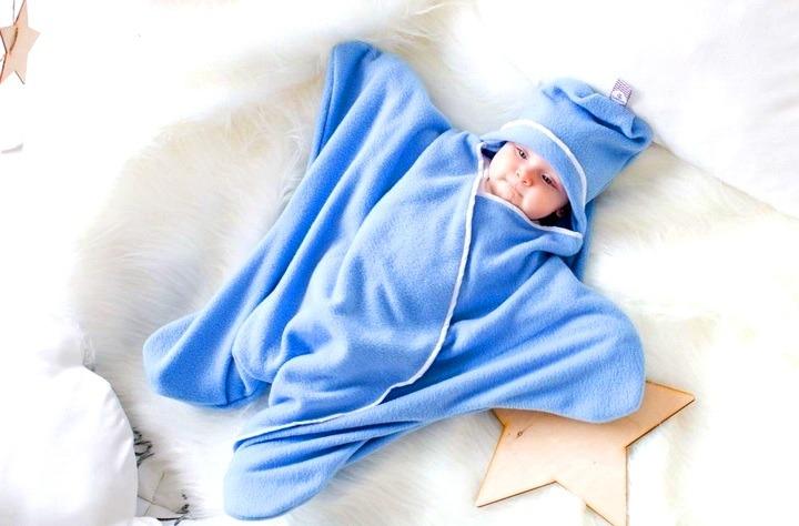 конверт для новорожденного