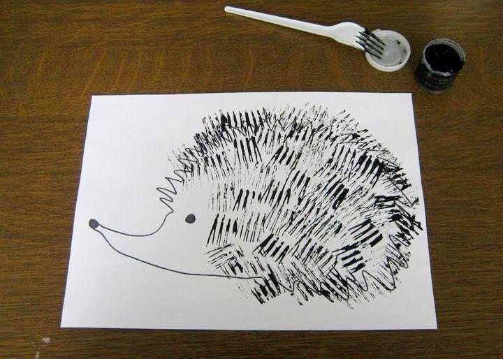 нетрадиционное рисование