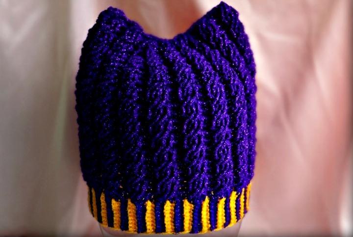 шапка с ушками