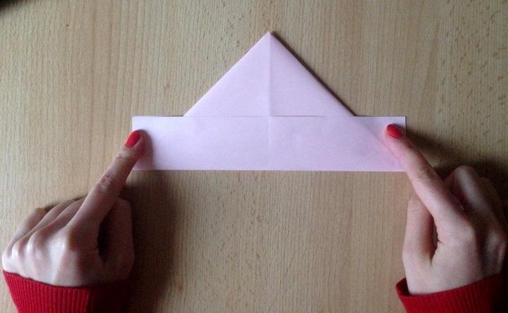 сделать кораблик из бумаги