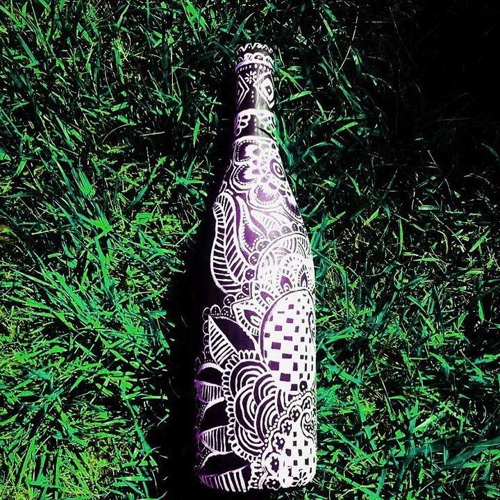 роспись бутылок