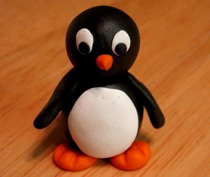 поделка пингвин