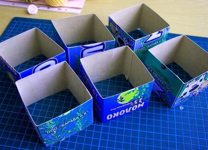 коробки от молока