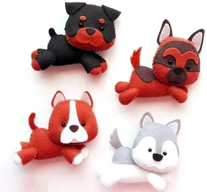 собаки мягкие игрушки