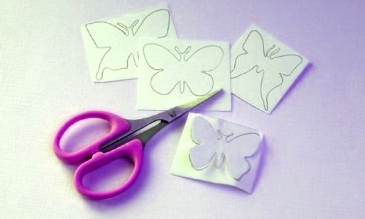 бабочки шаблоны