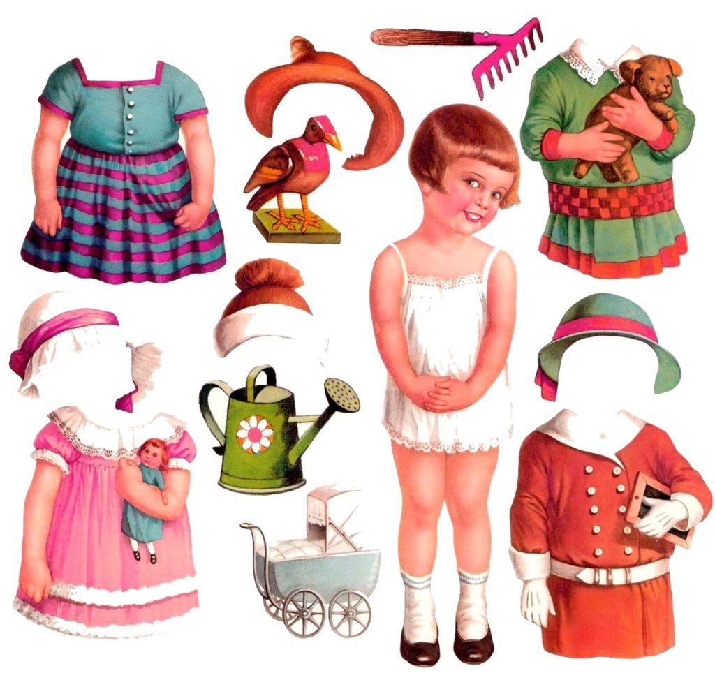 советский кукольный набор