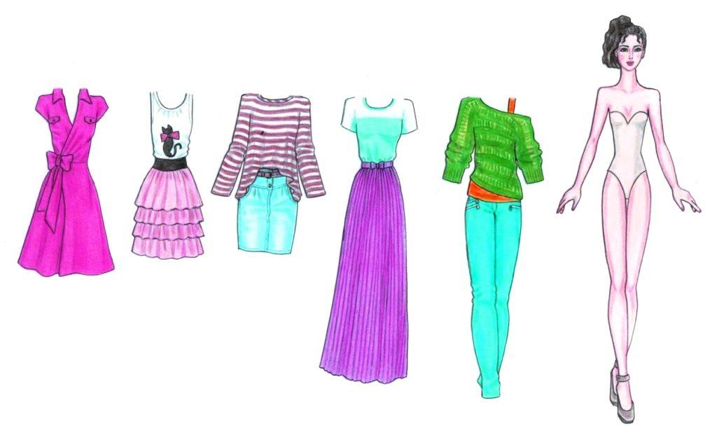 модные кукольные наряды