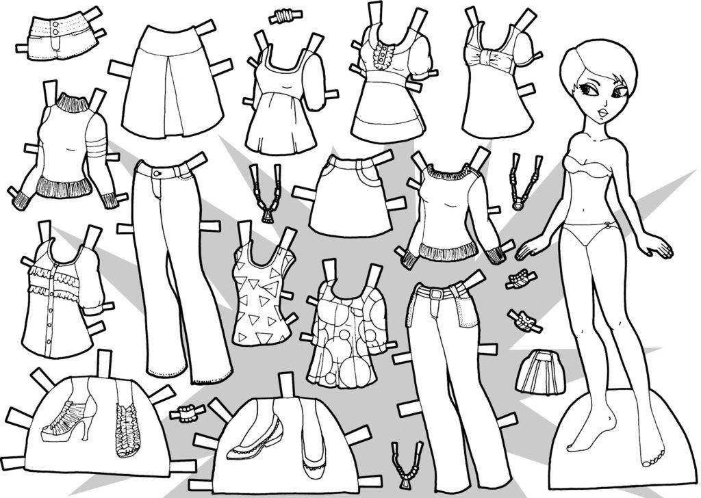 молодежная одежда для куклы