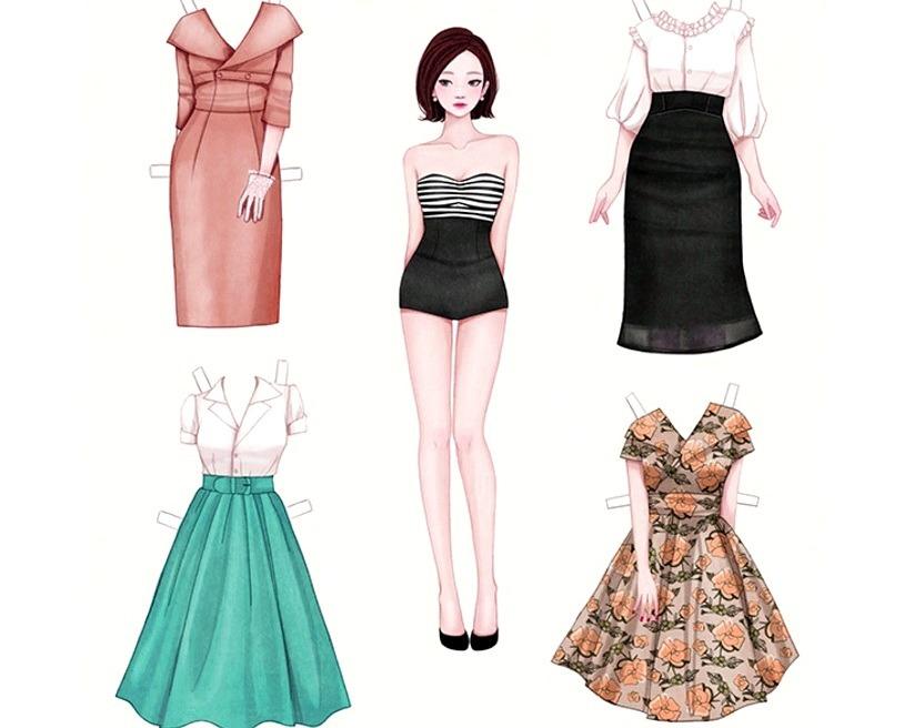 деловые костюмы для куклы