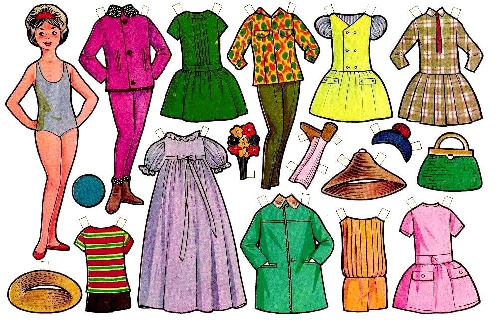 разная одежда для куклы