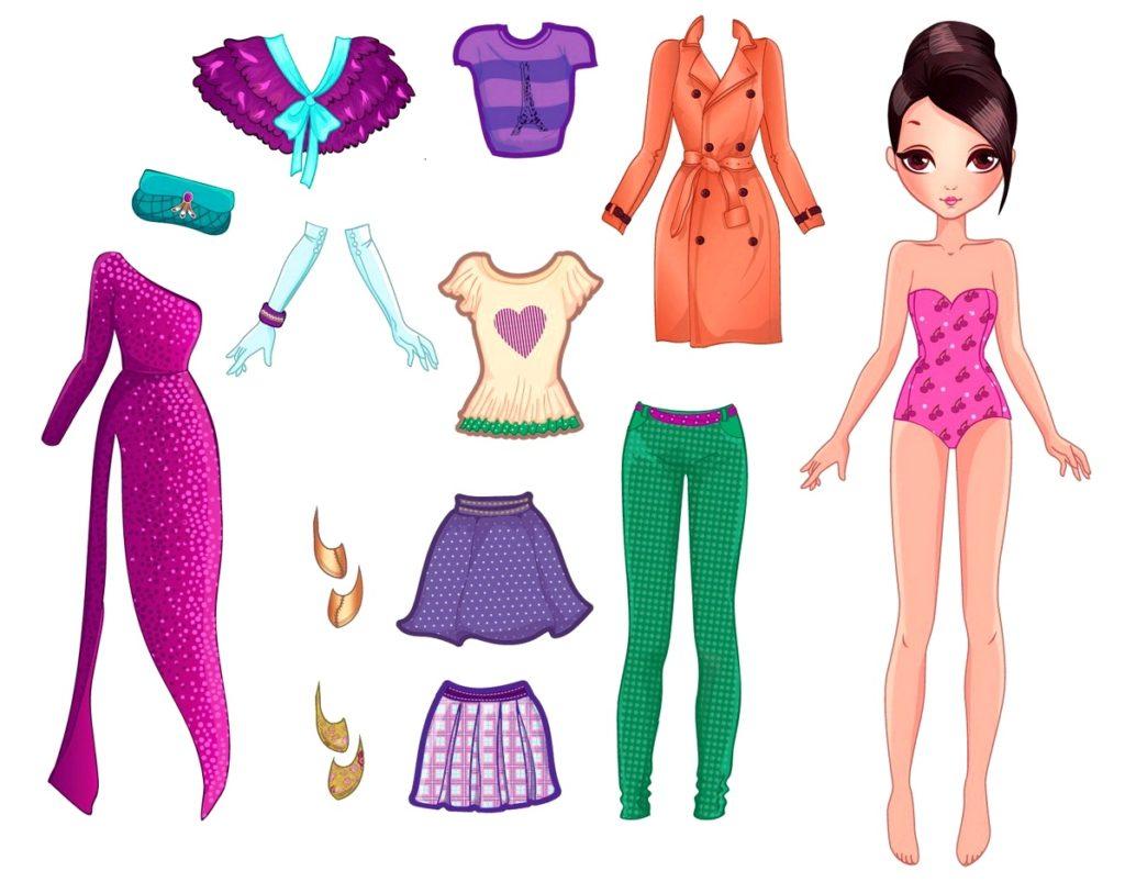 красивые кукольные наряды