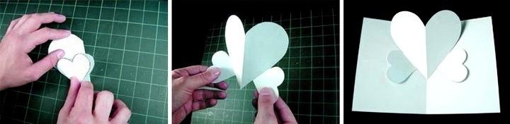 валентинка заготовка