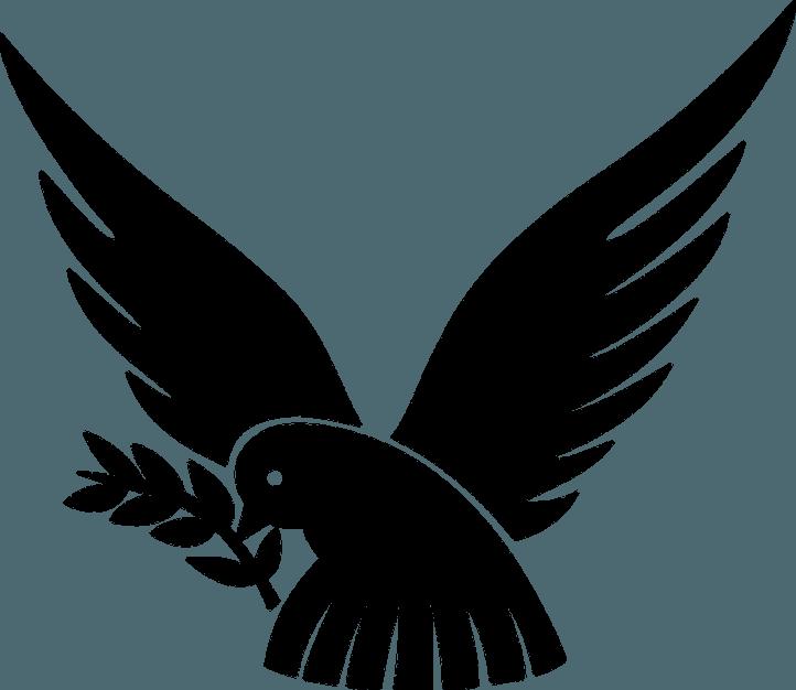 шаблон птички