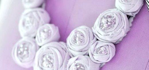 ожерелье из ткани