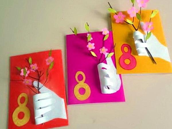 открытки-ладошки