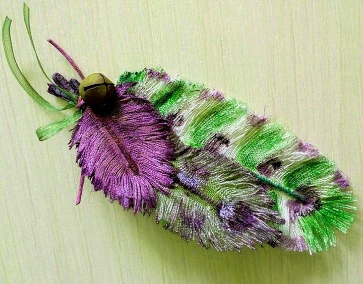 текстильное перо