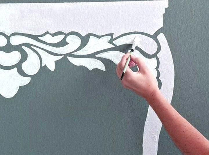 декор стены