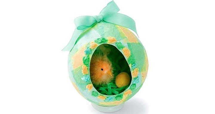 яйцо из папье-маше