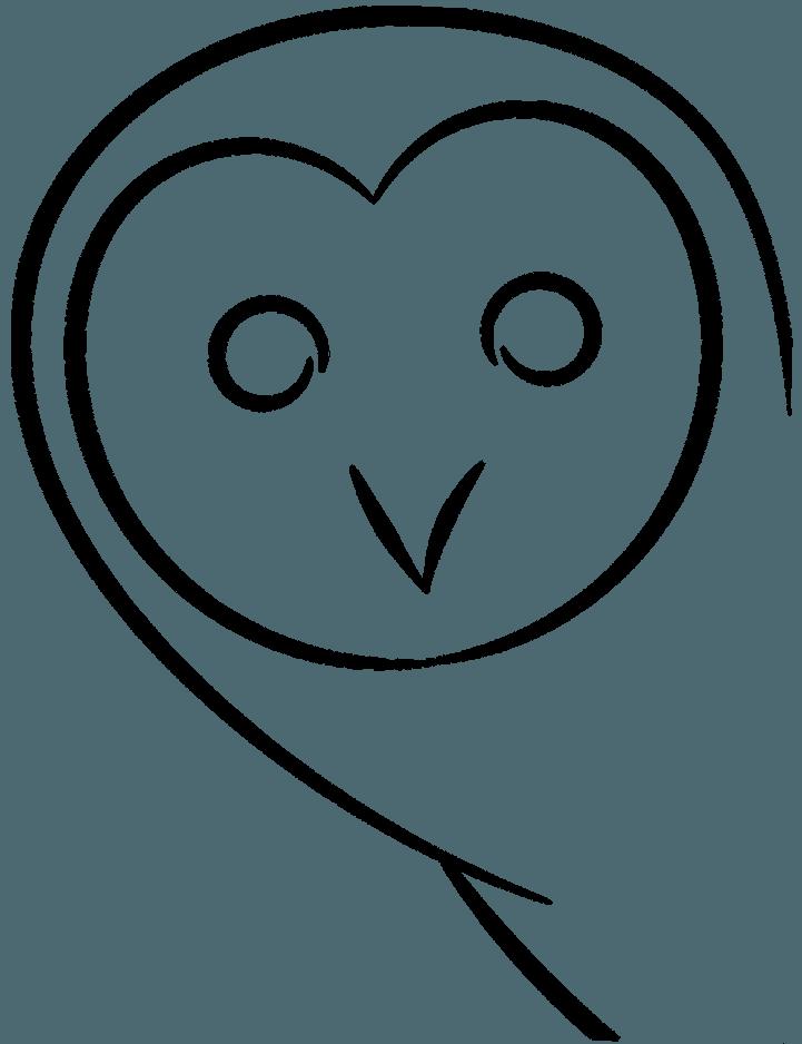 силуэт совы