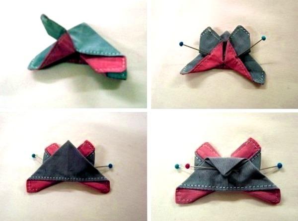 оригами заколка