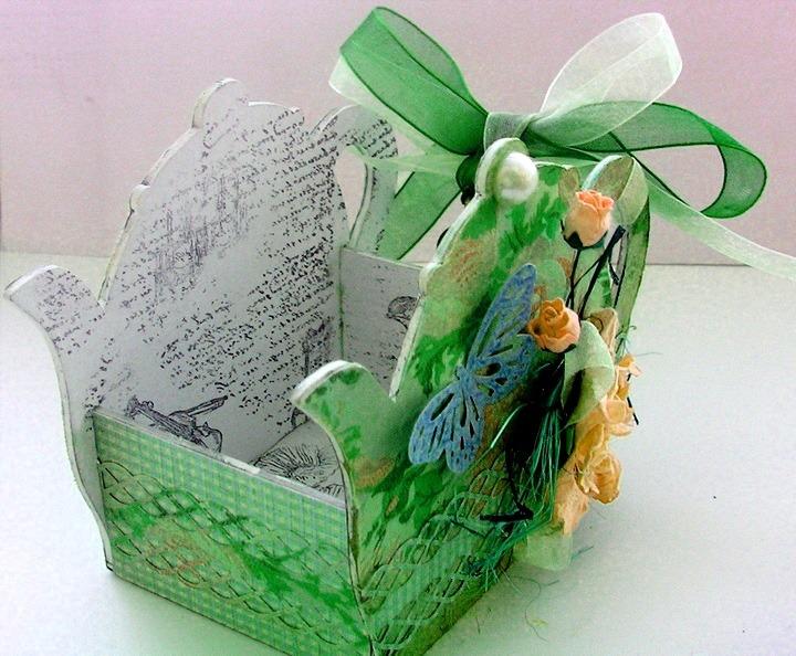 коробочка для пакетиков