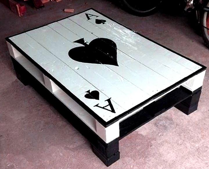 столик из паллет