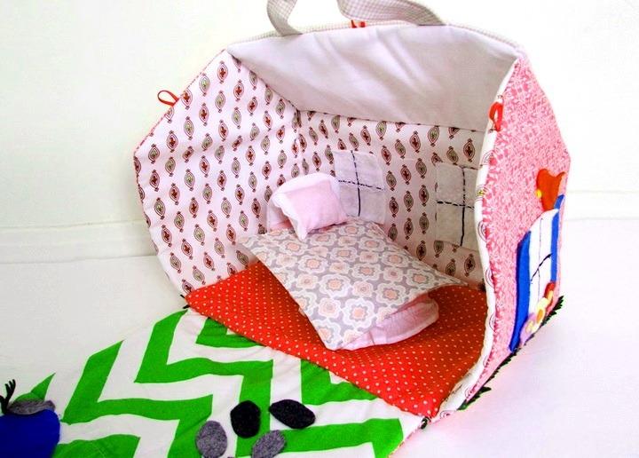 b603bd08072e Как сшить сумку-домик для кукол своими руками (фото и выкройки)   33 ...
