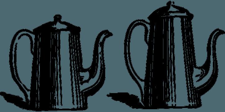 шаблоны кофейников