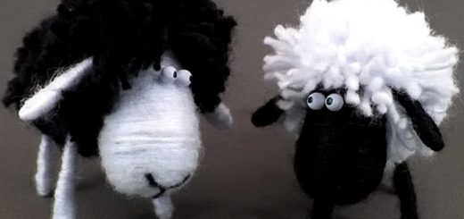 самодельные овечки