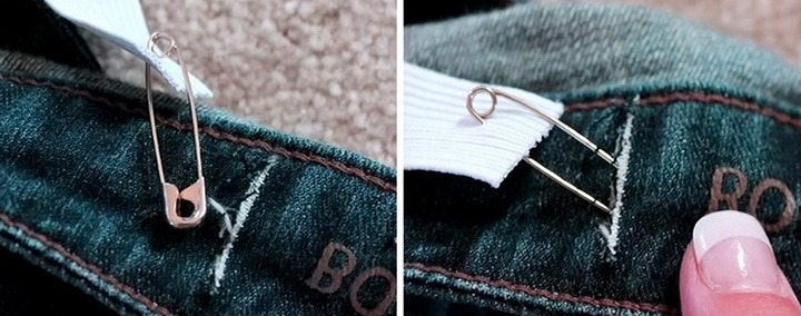 ушивка джинсов