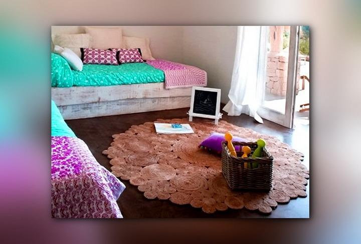 джутовый коврик