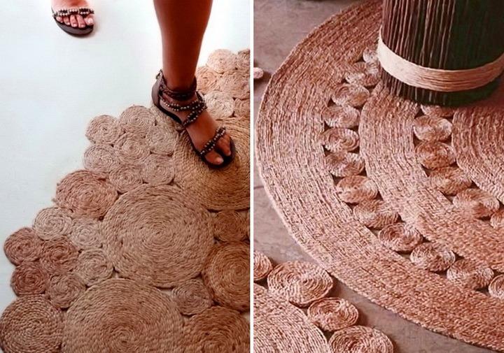 джутовые ковры