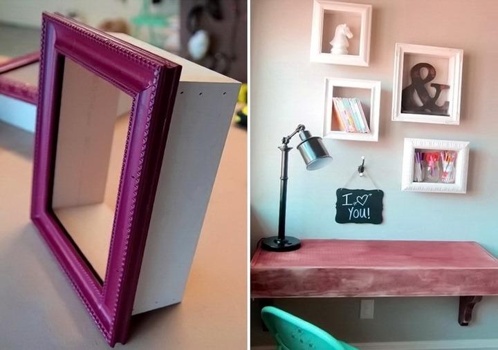Как сделать фоторамки на стену
