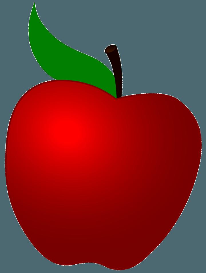 шаблон яблока