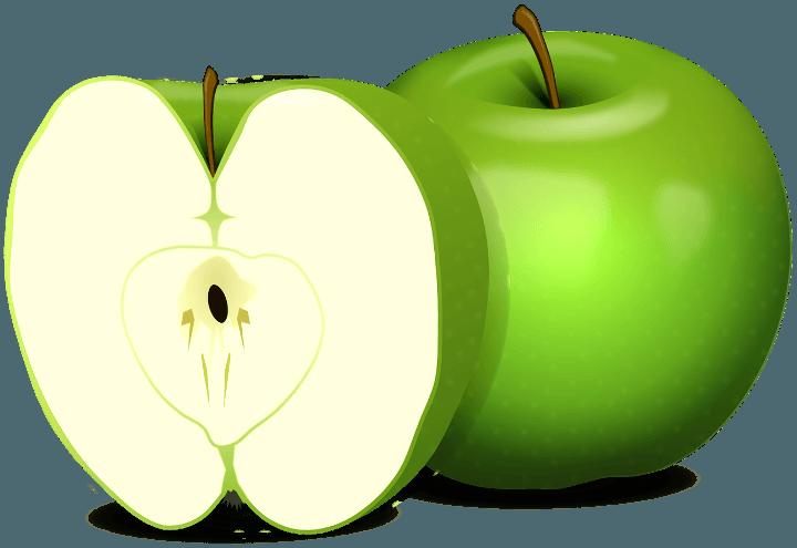 шаблон яблоко