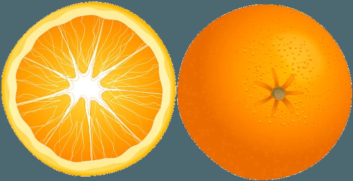 шаблон апельсин