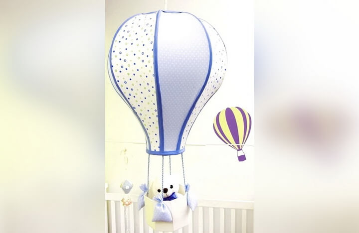 абажур воздушный шар