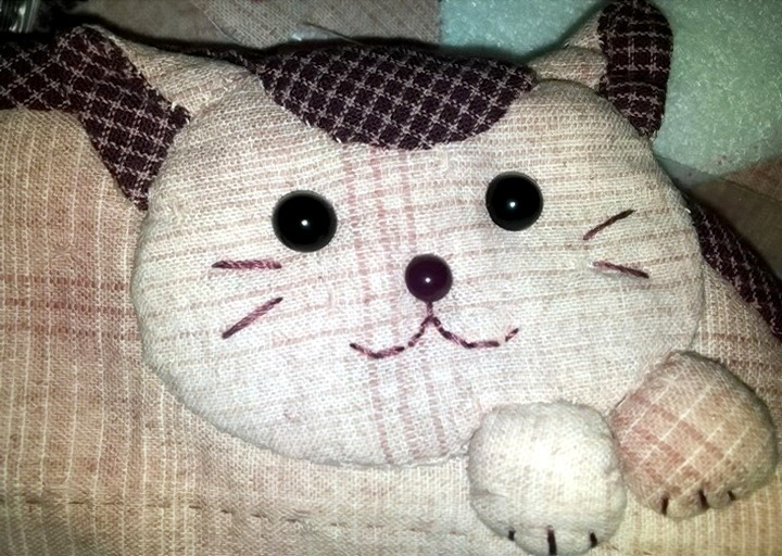 кошка-пенал