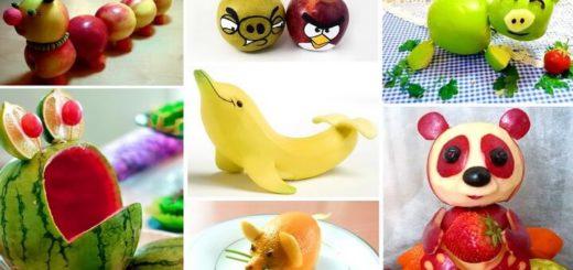 идеи поделок из фруктов