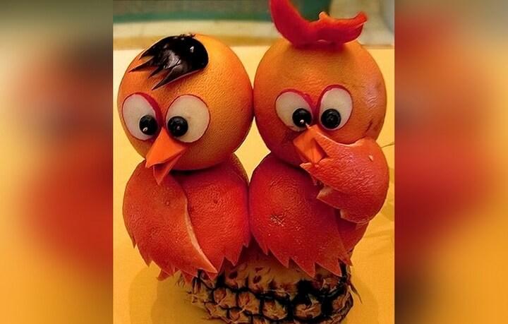 мандариновые птички