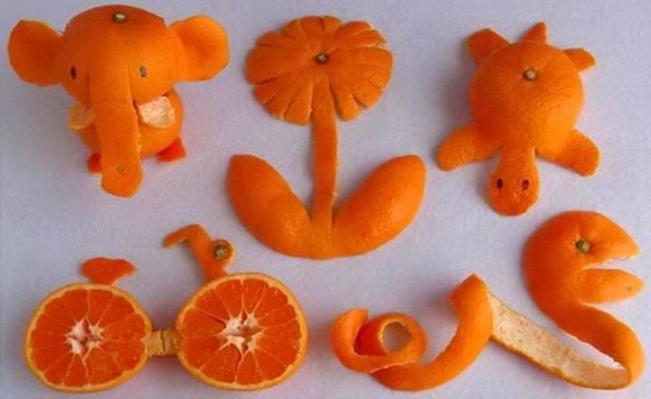 поделки из апельсинов