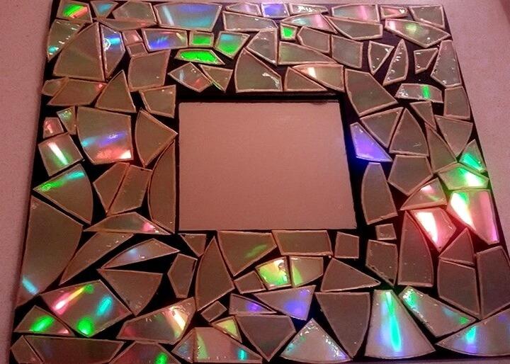 рамка из дисков