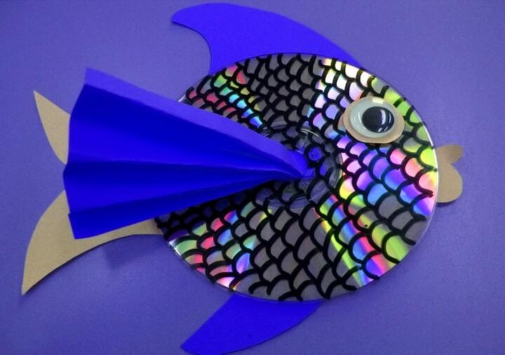 рыба из диска